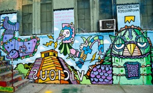 Mural at 5 Pointz. Photo by Matthew Harvey via Flickr.