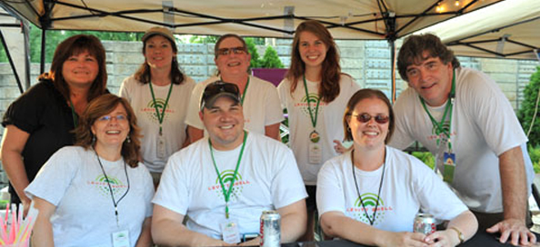 Levitt Pavilions' volunteers