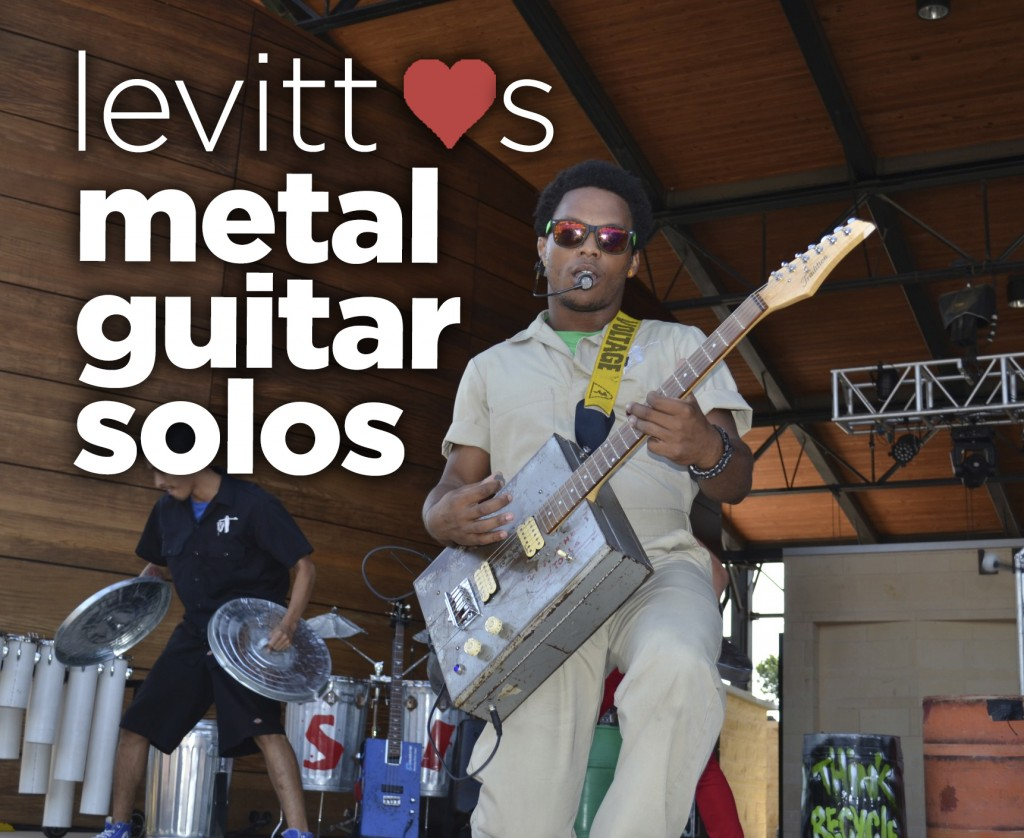 Levitt Loves Metal guitar solos