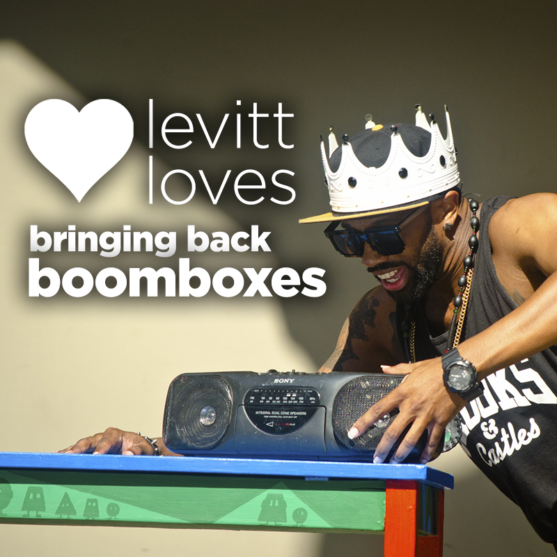 Bringing back boomboxes