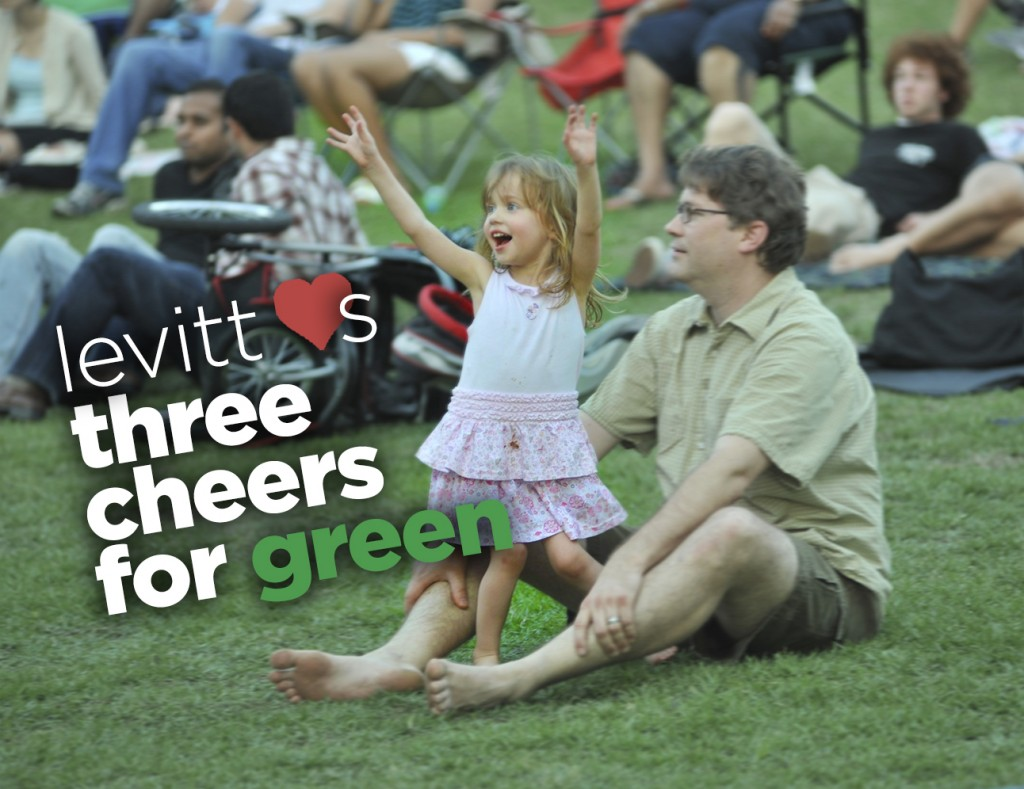 2014-04-22 - three cheers for green