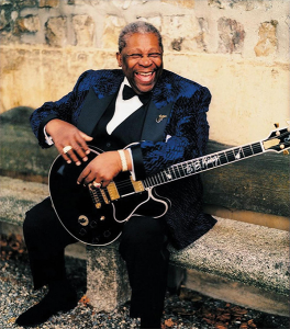 Although he had many guitars over his long career, B.B. King named every one Lucille.