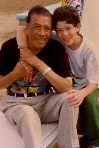 Salvador and Jose Santana
