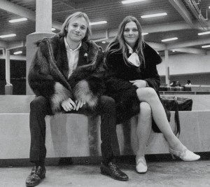 Stephen Stills and Judy Collins in 1968