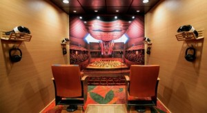 Inside the VAN Beethoven truck. Photo courtesy of the LA Phil.