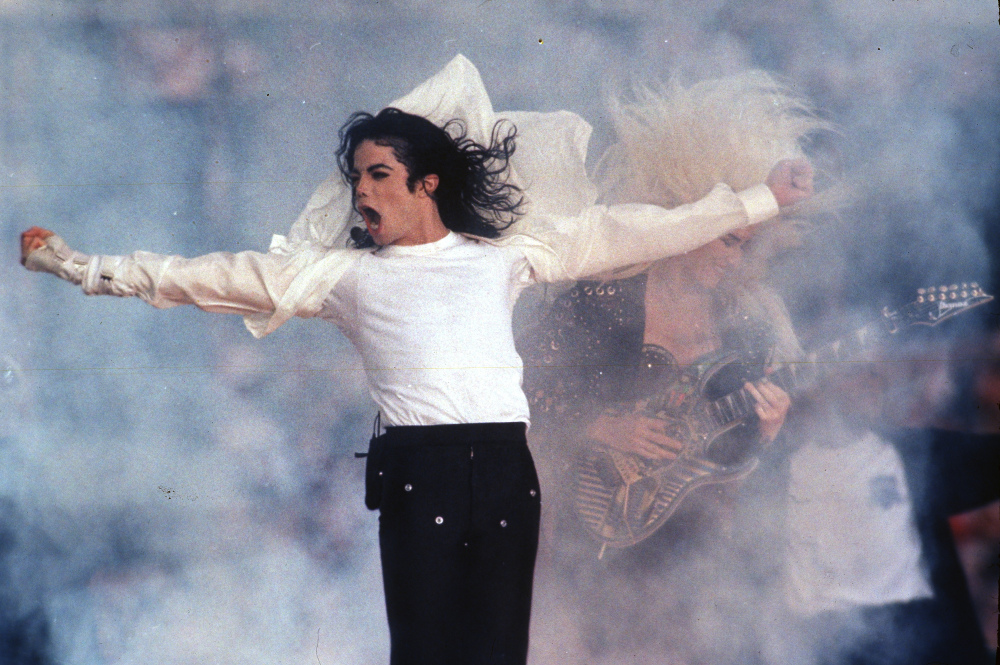 After an electrifying 1993 performance, the King of Pop sent the precedent for big production halftime shows that have since featured artists like Beyoncé, Madonna and Prince.