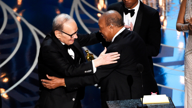 Ennio Morricone, Quincy Jones, Pharell Williams