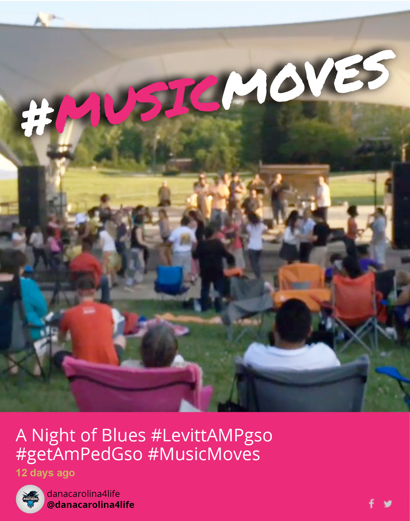 #musicmoves Greensboro