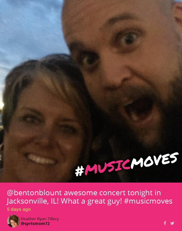 #musicmoves Benton