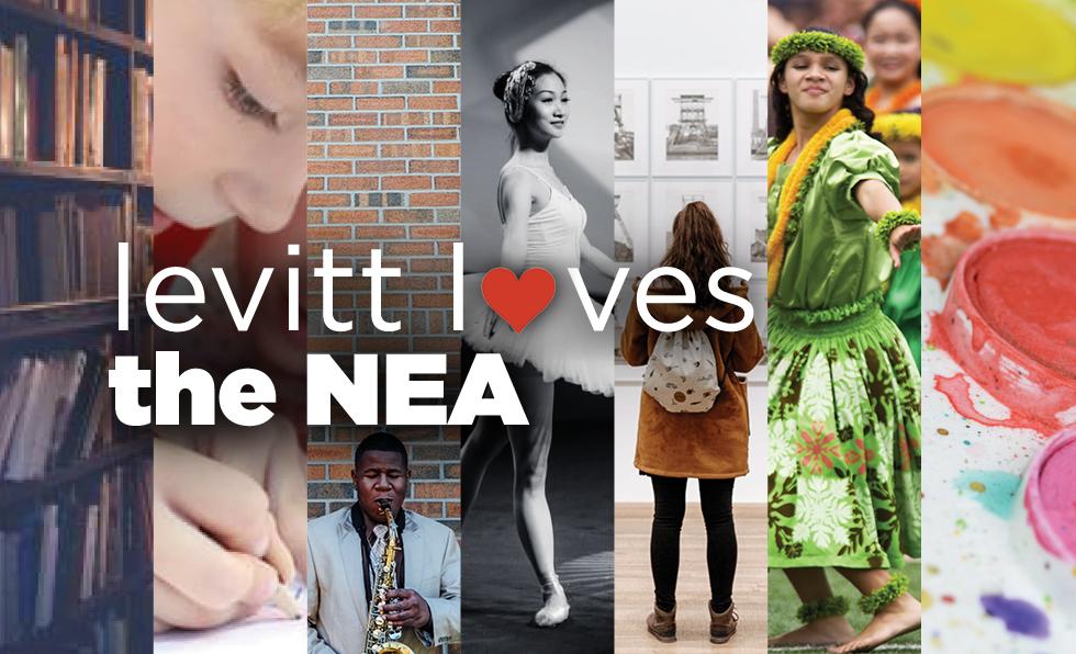 Levitt loves the NEA