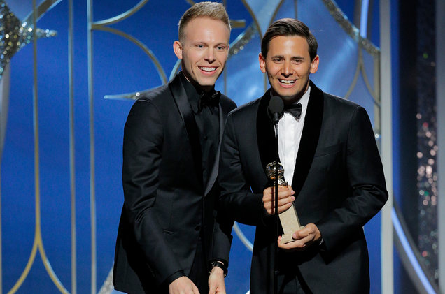 justin-paul-benj-pasek-golden-globes-show-2018-billboard-1548