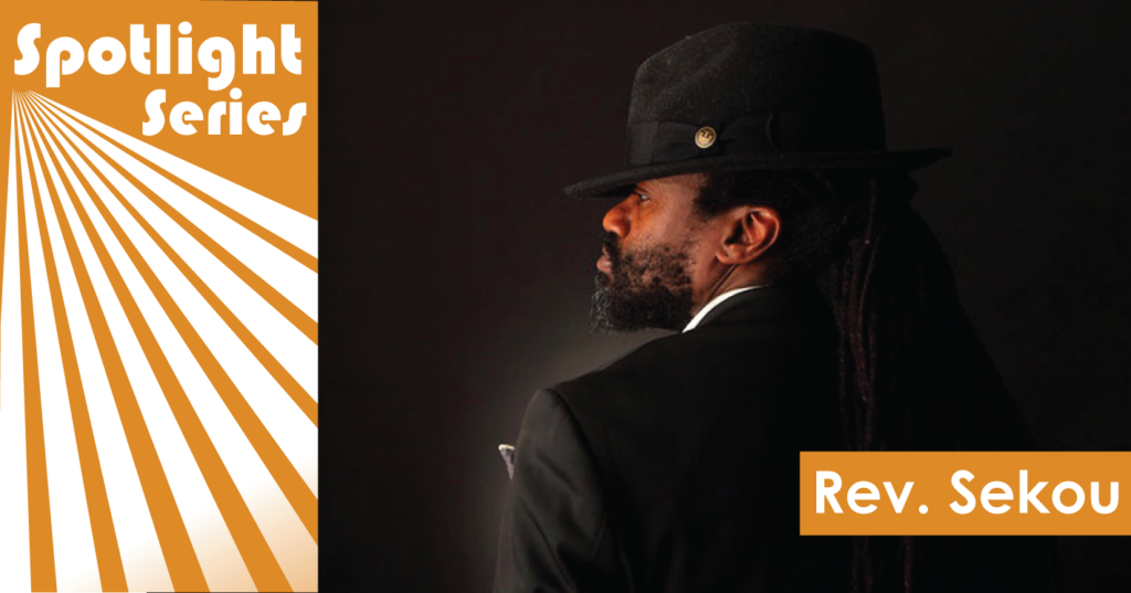 Reverend Sekou Spotlight header
