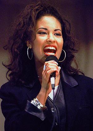Selena Quintanilla Perez, photo by George Gongora
