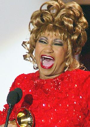 Celia Cruz, photo by Opinion Caribe