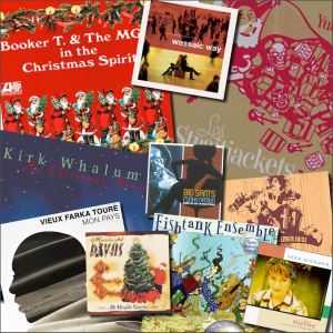 Levitt artists 2013 Holiday playlist album covers