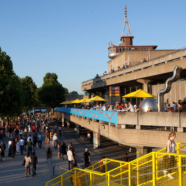A photo of London's Southbank Centre