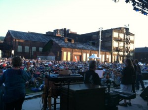 Craig Thatcher at Levitt SteelStacks