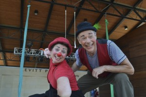 The Lone Star Circus returns to Levitt Pavilion Arlington.