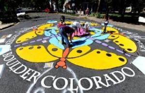 Goss Grove Paint the Pavement