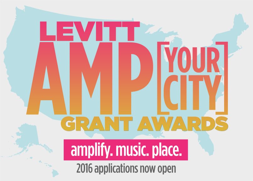 Levitt AMP artwork_now_open