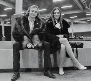 Stephen Stills and Judy Collins in 1968