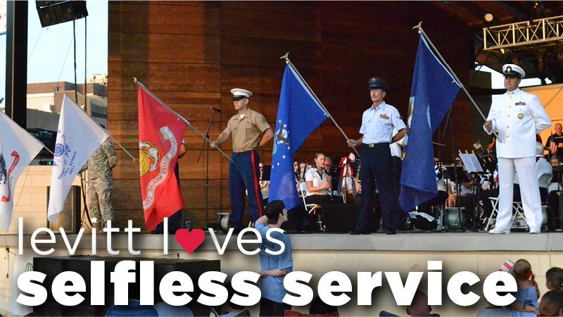 Levitt loves - selfless service