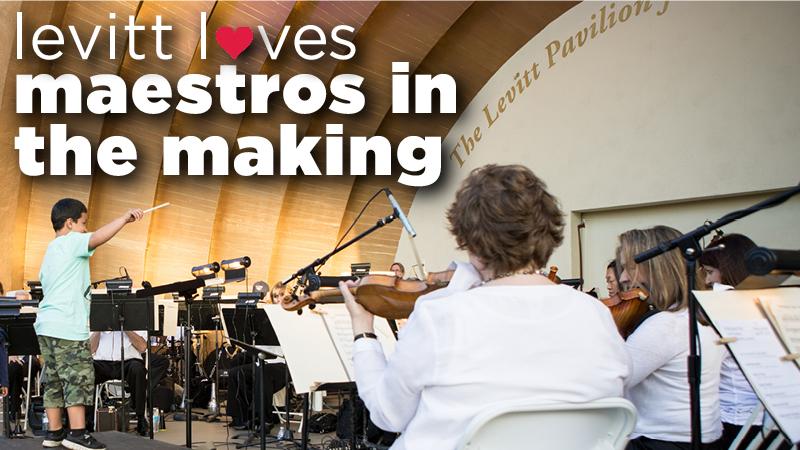 Levitt loves...maestros in the making!