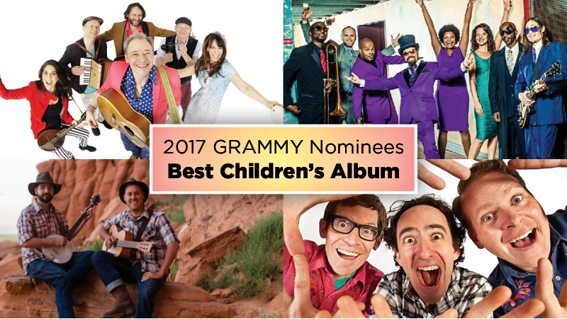 GRAMMYs Childrens Music Nominees