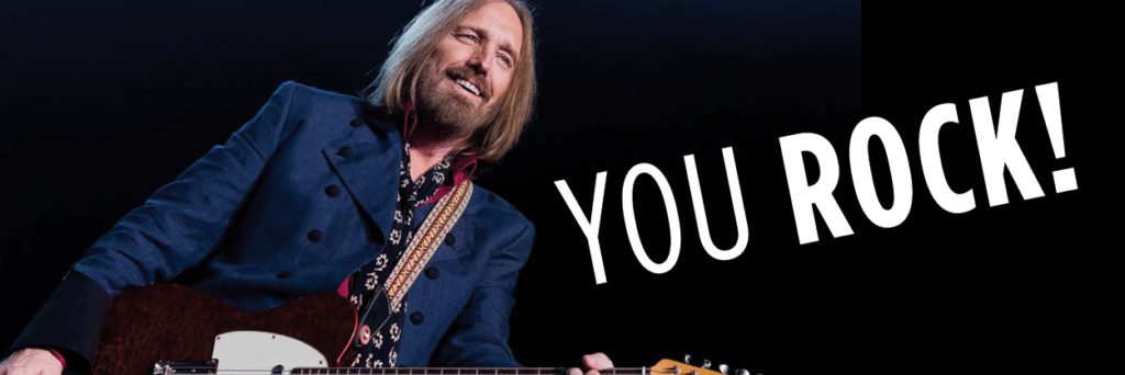 Tom Petty, you rock!