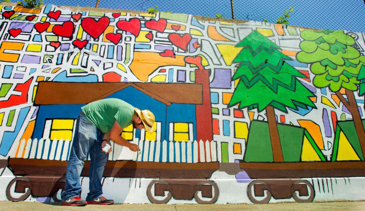 Greensboro Mural