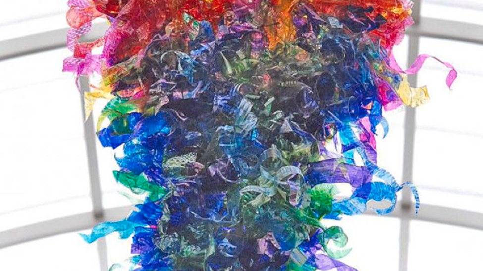 Residents of Park Rapids, MN are coming together to build a giant, DIY glass sculpture that will pay homage to artist Dave Chihuly and beautify the underutilized public library.