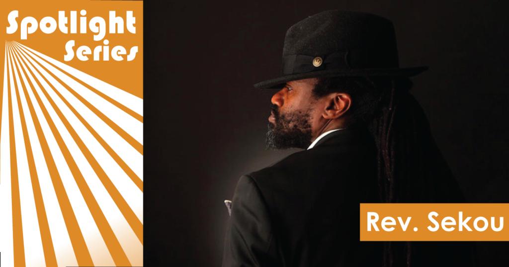 Reverend Sekou Spotlight header
