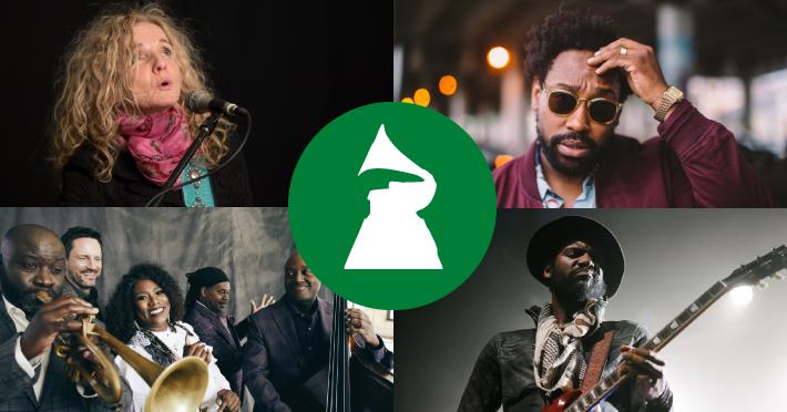 Grammy winners header