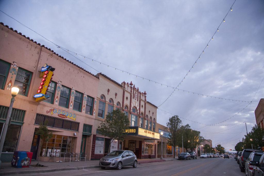 Coal Avenue in Downtown Gallup, New Mexico. Photo courtesy: Cayla Nimmo