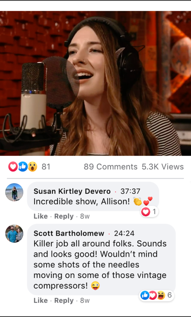 Allison Grace performs live from Fort Smith, Arkansas as part of the Levitt AMP Virtual Music Series