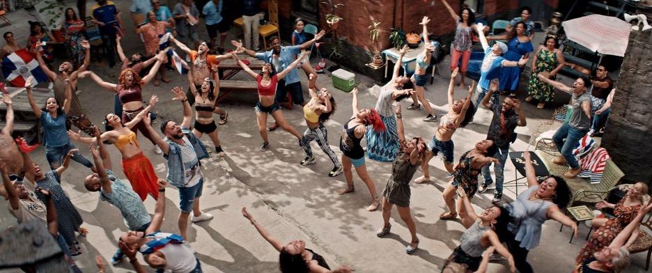 """Warner Bros., scene from """"Carnaval Del Barrio"""""""