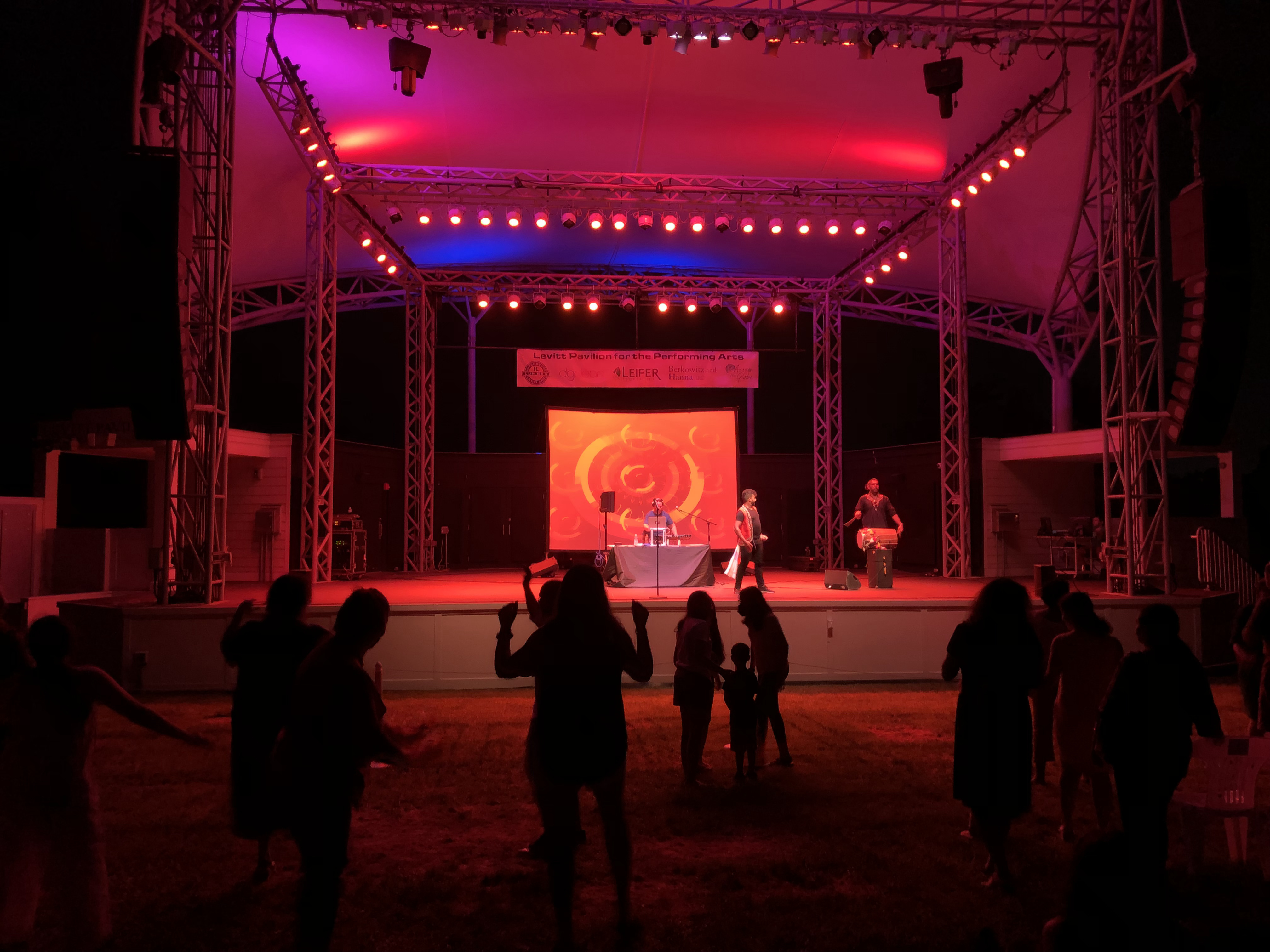 DJ Rekha at Levitt Pavilion for the Performing Arts in Westport, CT in July 2021